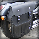 handcrafted custom leather motorcycle bags